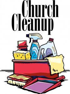 church cleanup